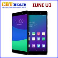 IN STOCK IUNI U3 4G FDD LTE Cell phone 5.5 inch 2560*1440 Qualcomm Snapdragon 801 Quad Core 3GB RAM 32GB ROM 13.0MP
