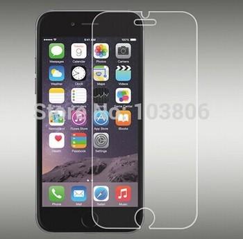 Самая низкая цена 100 шт. 0.4 мм закаленное стекло фильм экран протектор для iPhone 6 4.7 дюймов розничным пакетом