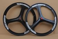 magnesium alloy one piece wheel knife wheel road bike