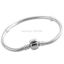 WAYA 925 Sterling Silver STARTER Charm Bracelet Bangle for Women diy european bracelet charms DIY Christmas