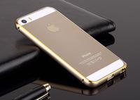 Hot Circle Arc Aluminium Metal Bumper for iPhone 5 5S Dual Double Colors Bumper Frame Cover Case Ultra Slim 0.7mm fashion