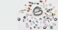 floating locket charms fashion openable locket pendants diy jewelry accessories, pick your styles, great gift, 20pcs fcl001