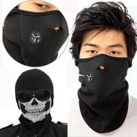 Motorcycle SKULL Ghost Face Windproof Mask Outdoor Sports Warm Ski Cap Bicyle Bike Balaclavas Scarf