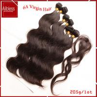100 human hair,Peruvian virgin hair body wave,Peruvian virgin hair 6pcs lot with free closure free shipping,Can Dyed And Bleach