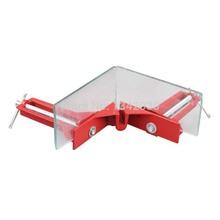 Envío gratis, 2 unids/lote, 90 Degree ángulo tipo clip, rápido Clip de ángulo para vidrio marco pecera, carpintería marco