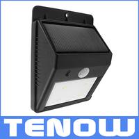Solar LED Bright White Garden Lamp Powered PIR Motion Sensor Security Light