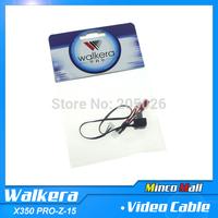100% Original Walkera QR X350 PRO-Z-15 Camera AV Output Adaption Cable for Walkera QR X350Pro FPV Gopro Hero 3