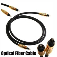 Hot sale 1M 3FT Digital Audio cables Optical Fiber Cable Cord Toslink  to Toslink connect for DVD  VCR CD