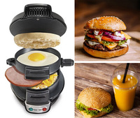 5 Mins To DIY Ur Personal Nourishing Hamburger - Novel Breakfast Sandwich Maker Kitchenaid Cooking Tools Cookware Kitchen Tools