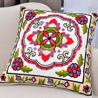 wholesale cushion cover Home Textile Fashion Handmade embroidery sofa car seat cushion pillow COVER Christmas wedding Xmas gift