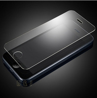 High Quality LCD Clear Tempered Glass Screen Protector For iPhone 5 5s 5c Protective Film With Retail Package Wholesales