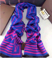 New Design in 2014 ,  Fashion Brand Striped Scarf for Men and Women both .  Good Quality .  Free Shipping