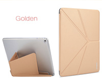 Brand Foldable Wake Sleep Magnetic Luxury Ultra Thin Slim Leather Case Cover Stand For Apple Ipad 6 ipad air 2