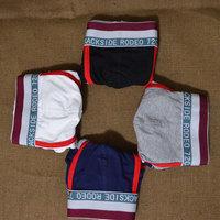 New arrival sexy mens cotton boxers 4 colors cotton men's underwear male slim fit underpants M-XXL size man boxer shorts
