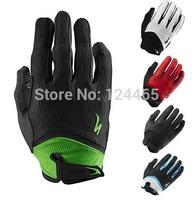 Brand BG Gel Long Finger Wiretap Glove for Men Woman MTB MX BMX DH Off Road Downhill Glove Mountain Bike Cycling Glove