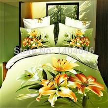 Nova listagem edredon congelado cama definir conjunto de cama capa capa de edredon colcha conjuntos de cama 3d cama colcha lençol de linho colcha(China (Mainland))