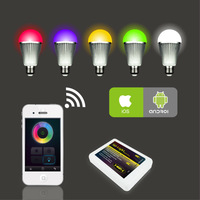 NEW 2.4G Mi light WIFI led RGB controller by Iphone Ipad Android by Mobile wireless control with USB,For led bulbs led strip