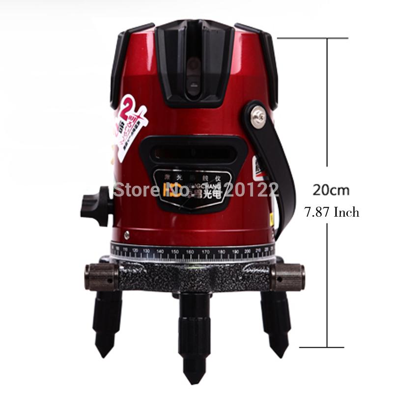 Livraison gratuite rotation 4v4h ligne niveau laser beam - Niveau laser interieur exterieur ...