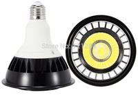 Hot sale E27 par20 par 30 par 38 led bulb light 12W par30 led light bulb ac85-265v warm white cool white black shell