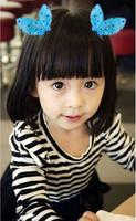 New Baby Girls Hair Accessories Rabbit Ear Hair Clip Cute Hairpins Fashion Hair Clip Barrettes Free Shipping