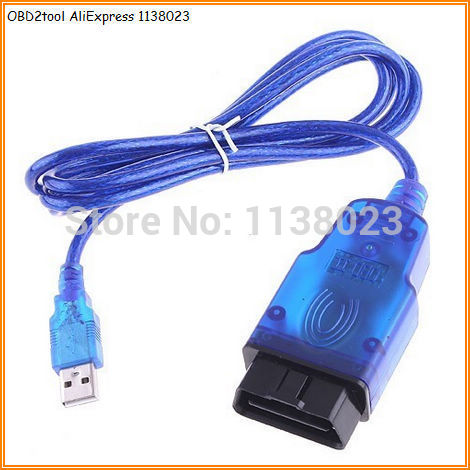 OBD2tool opel tech 2 usb cable opel tech2 usb car diagnostic interface with opel tech2 software(China (Mainland))