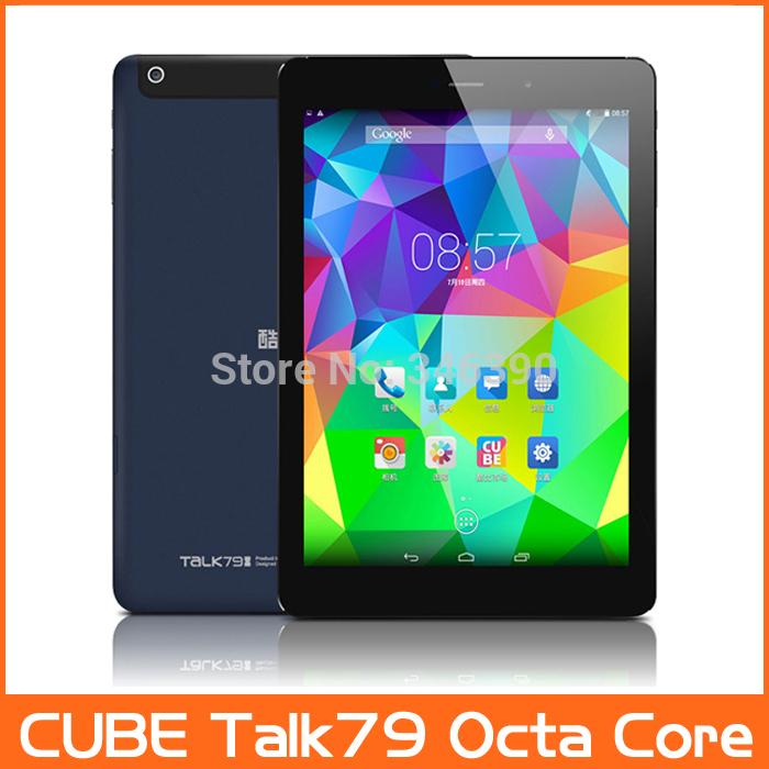 "New Arrival Original CUBE TALK79 Octa-Core 7.9"" MTK8392 Tablet PC TALK 79 3G Phone Call GSM WCDMA GPS 2048x1536 Retina IPS 79S(China (Mainland))"