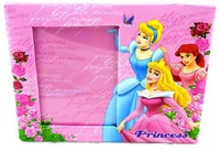 Painting wedding picture frame 2015 mirror frame wholesale baby girls princess Elsa Anna Picture frame/kids Photo Frame 010