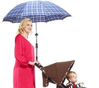 1Pcs Useful Umbrella Bar Holder Stand Handle Swivel Umbrella Connector Stroller Holder Wheelchair Bike Umbrella Frame EJ871578