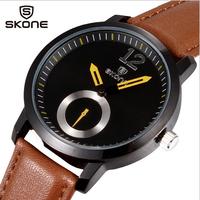 Fashion Casual Men Wristwatches Man Luxury Brand Business Quartz Analog Sport Dress Watch Leather Strap Simple Elegant Clock