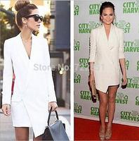 The NEW Fashion V-neck dovetail skirt suit HHLOM0114 free shipping