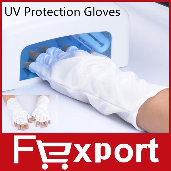 Anti UV Glove for UV Light/Lamp Radiation Protection Manicure Nail Art Dryer Tools ,459(China (Mainland))