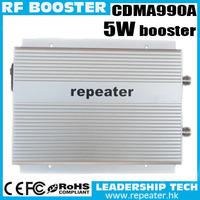 Free Shipping High Power Gain 85Db CDMA990A 3Watts 850Mhz Mobile Phone Signal 800mhz cell phone Singal Repeater CDMA Amplifier