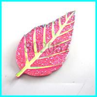 Leaf Shape Stone ,DIY Beads Accessories Ending 53*27mm 50pcs/lot Flat Back Rhinestone DIY Jewelry Accessoriec