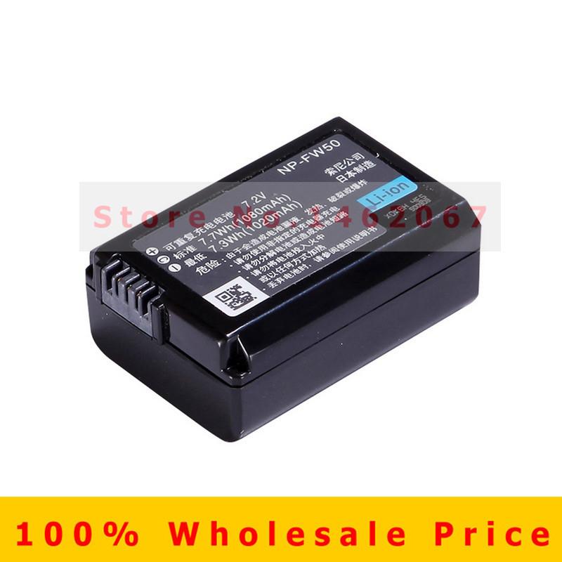 NP FW50 NPFW50 NP FW50 Battery for Sony Alpha a33 a35 a37 a55 SLT A33 SLT