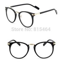 Big round unisex computer eyeglasses men optical glasses frame women fashion gafas eyewear oculos spectacle frame nerd glasses