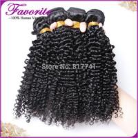 Indian Virgin Hair Deep Curly 4Pcs Lot Ali Favorite Human Hair Products Unprocessed Virgin Indian Human Hair Weave Bundles 6A