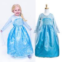 New Frozen dress,baby girls Anna&elsa party dress,Christmas gift for girs,Christmas dresses.baby kids dress,girl's clothing