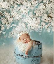 Customize Thin vinyl photography backdrop floral Digital Printing Vinyl cloth background(China (Mainland))