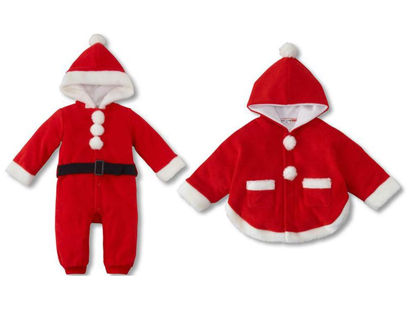 Freeshipping!Chiristmas suit ,Baby Christmas Costumes,Santa Baby,Santa Clause,Children Xmas Outfits(China (Mainland))