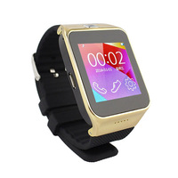 2014 Xmas Gift Smart Bluetooth Wristwatch M6 Watch Phone Copy Of Samsung Gear 2 Support 8GB TF/Record/pedometer SIM For Iphone