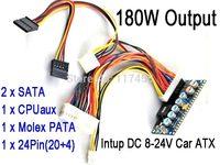 DC 8-24V 24Pin ATX Power Supply   PicoPSU Car Auto mini ATOM HTPC ITX mini-ATX Power Supply