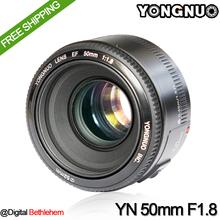 YONGNUO YN 50mm F1.8 Lens Large Aperture Auto Focus Lens for Canon EOS DSLR Cameras