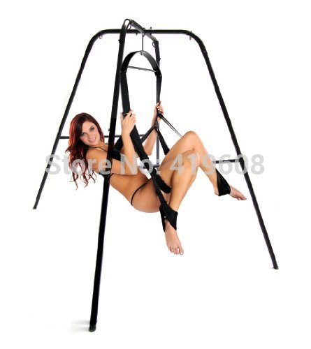 Orgasm Romatic couple love sex game tool / sex furnture Ultimate Sex Swing Stand with swing/ Sex Furniture for couples & lovers/(China (Mainland))