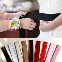 Min order $10 colorful Bridal Sash wedding dress belt 9 colors for choose Wedding waistband accessoires XW34