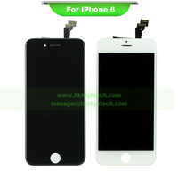No dead pixel 4.7 lcd display assembly with touch digitizer for iphone6 iphone 6 5pcs by dhl free