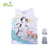 Brand Boys T Shirt Tigor T Tigre Clothing 2014 new Summer Fashion Kids clothes Sleeveless O-Neck Cartoon boys t shirt