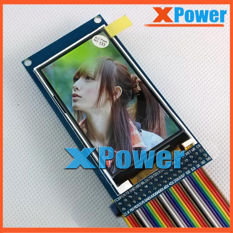 "Hot Sale 2.6 Inch TFT LCD Screen + PCB IPS MVA 240*400 HD HX8352C Drive IC With STM32 C51 Source Code 2.6 "" IPS TFT LCD Module(China (Mainland))"