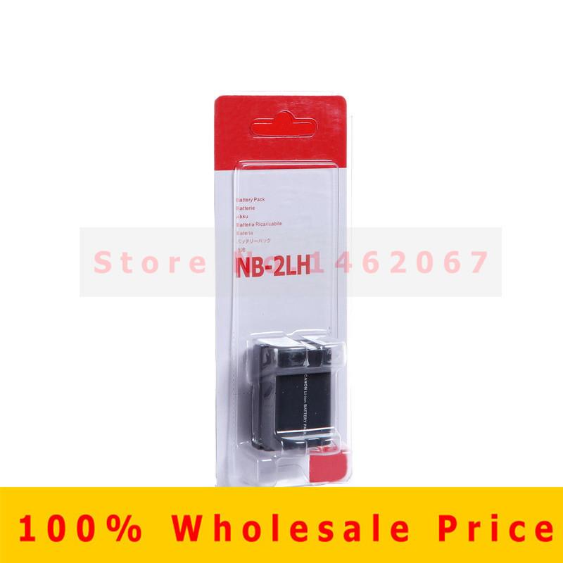 Original NB-2L NB 2L NB2L NB-2LH NB 2LH Digital camera battery pack for Canon Rebel XT XTi 350D 400D G9 G7 S80 S70 S30(China (Mainland))