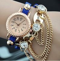 Rhinestone Luxury Brand Quartz Watches Relogios Femininos Leather Women Dress Watch,Fashion Bracelet Wristwatches,Relojes Mujer