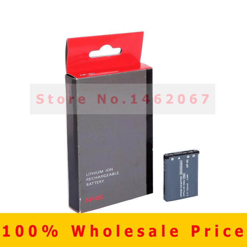 Original NP-80 NP80 NP 80 Rechargeable Camera Battery for Casio EX-ZS5 EX-Z37 EX-Z270 EX-Z330 EX-G1 EX-S8 Free Shipping(China (Mainland))